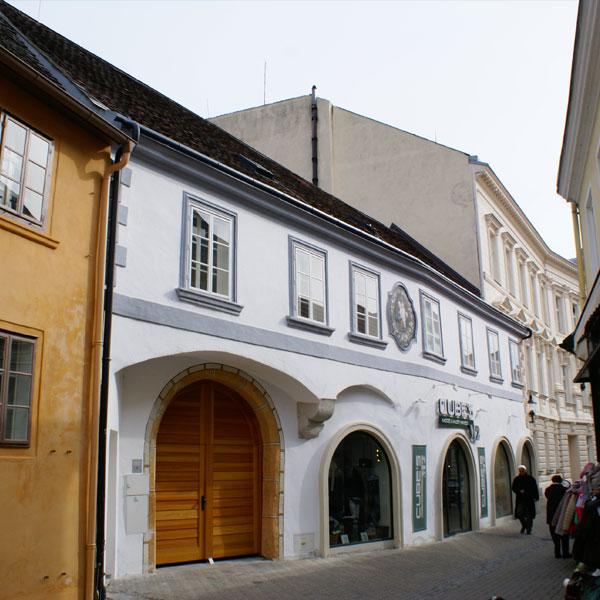 Generalsanierung eines denkmalgeschützten Gebäudes in der Altstadt von Baden